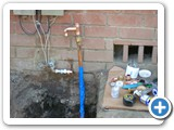 Water service repipe
